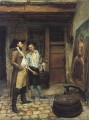 The Sign maler klassizistische Ernest Meissonier
